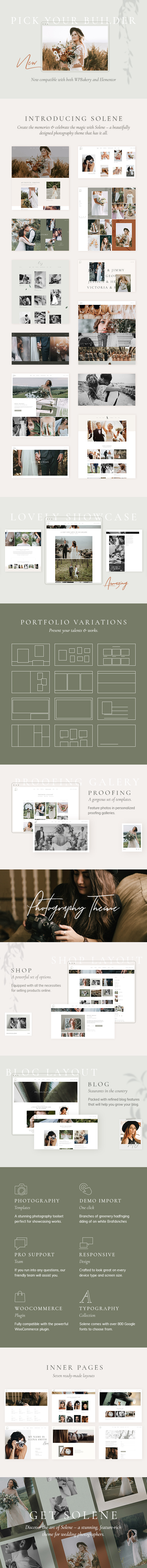 Solene - Wedding Photography Theme - 1