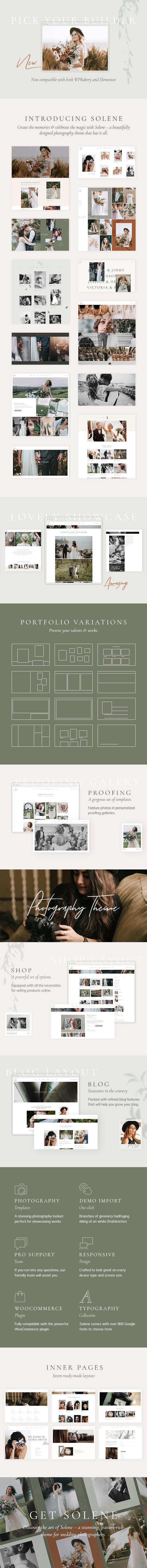 Solene - Wedding Photography Theme - 2